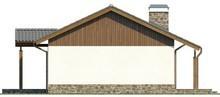 Проект одноповерхового будинку з двома спальнями