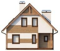 Проект будинку для вузької ділянки