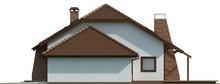 Проект будинку з мансардою та гаражем для двох авто