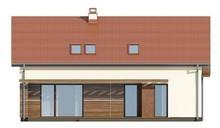 Проект будинку з мансардою і гостьовими кімнатами на першому поверсі