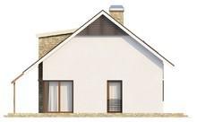 Проект котеджу з мансардою, кабінетом і терасою над гаражем