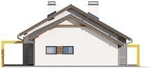 Проект одноповерхового будинку з трьома спальнями і гаражем