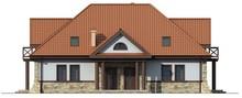 Проект будинку на дві сім'ї в стилі садиби