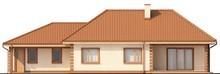 Проект одноповерхового будинку з гаражем в класичному стилі