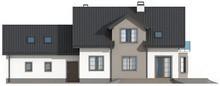 Проект будинку з гаражем для двох авто на 250м