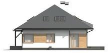 Проект будинку з мансардою та гаражем