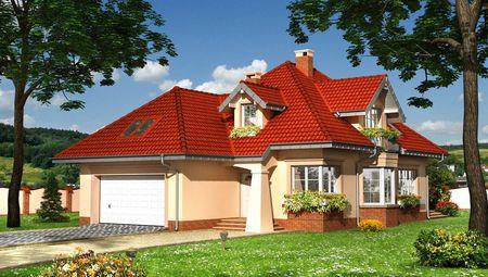 Привабливий проект невеликого будинку
