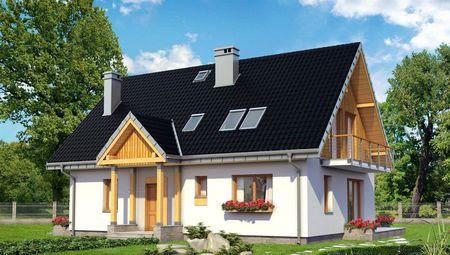 Проект особняка з неповторними дерев'яними елементами