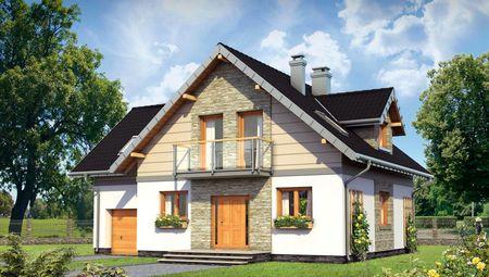 Затишний заміський будинок з мансардою та виходом на терасу