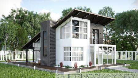 Проект незвичайного житлового будинку