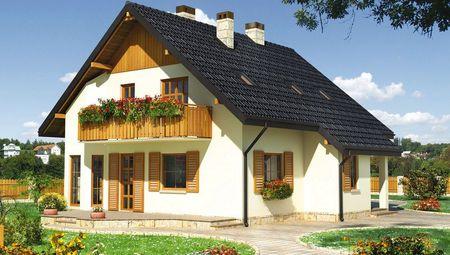 Затишний заміський будинок з п'ятьма спальнями