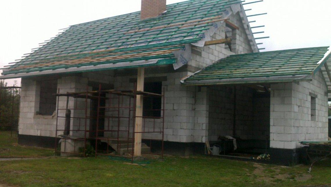 Проект одноповерхового будинку на 140 m²