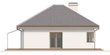 Готовий проект одноповерхового будинку з великим гаражем