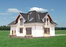 Проект стильного витонченого особняка житловою площею 180м2