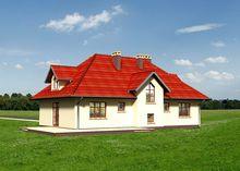 Яскравий заміський двоповерховий будинок з просторим гаражем