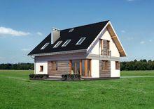 Затишний житловий будинок з просторою вітальнею