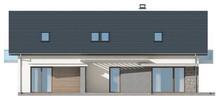 Проект котеджу на дві сім'ї з окремими входами