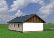 Архітектурний проект гаража для 2-х машин з коморою