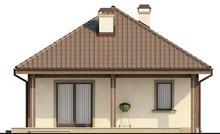 Проект будинку з мансардою