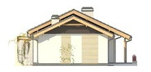 Проект комфортного класичного одноповерхового будинку з гаражем