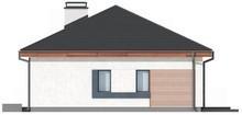 Проект стильного одноповерхового класичного будинку