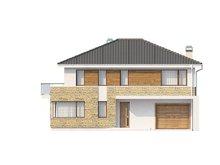 Проект стильного двоповерхового будинку площею до 200 m²