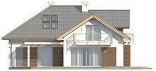 Проект класичного будинку з гаражем і прекрасною мансардою