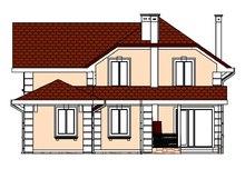 Проект затишного двоповерхового особняка для похилої ділянки