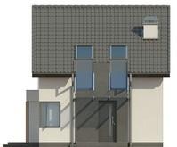 Проект будинку економ класу для вузької ділянки
