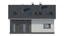 Проект будинку 9 на 12 з мансардою