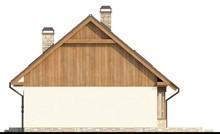 Проект невеликого еко будинку з мансардою