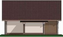 Архітектурний проект компактного будиночка 70 m²