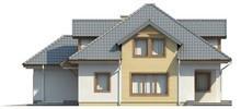 Проект будинку з мансардою, технічним приміщенням, додатковою спальнею