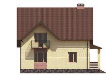 Компактний проект для будівництва котеджу з раціональним розподілом площ