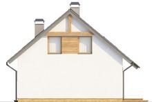 Проект економічного комфортного будинку з мансардою