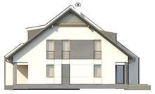 Проект будинку на дві сім'ї з гаражем