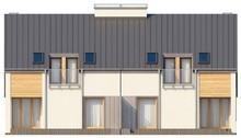 Проект недорогого будинку на дві сім'ї