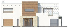 Проект двоповерхового особняка в стилі хай - тек