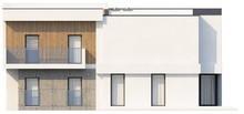 Проект будинку з кабінетом і гаражем