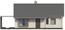 Проект невеликого класичного одноповерхового будинку