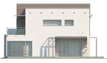 Проект будинку з гаражем на два автомобіля