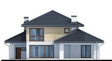 Двоповерховий житловий будинок поліпшеного планування
