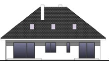 Проект житлового будинку з гаражем на два автомобіля