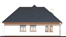 Чарівний одноповерховий будинок з просторою зоною відпочинку