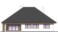 Стильний одноповерховий будинок з чотирма спальнями