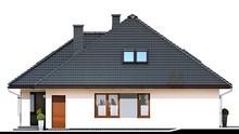 Сучасний будинок з трьома зручними спальнями