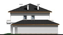 Класичний заміський особняк з просторим гаражем