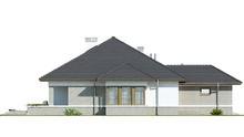 Одноповерховий будинок з гаражем