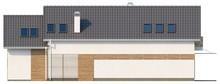 Проект котеджу з еркером і мансардою для вузької ділянки
