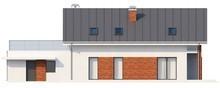 Проект котеджу з гаражем і 2-ма спальнями